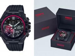 CASIO EDIFICE携手日本顶级车队TOMS 再推联名錶款