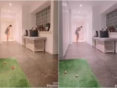 【影】内衣主播嫁大14岁百亿尪 「家中打高尔夫」洩豪宅装潢